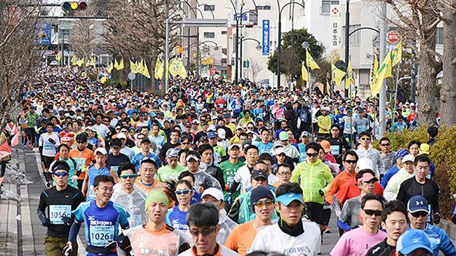 「市民マラソン大会」激増の知られざる舞台裏