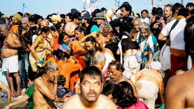 人間大洪水!1億人が熱狂するインド最大の奇祭