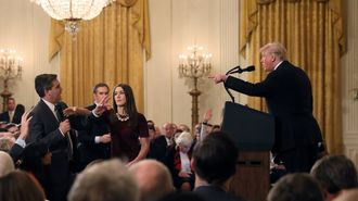 トランプ「CNN記者攻撃」のヤバすぎる現場