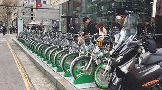 韓国自転車シェア、ヘルメット義務失敗のワケ