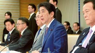 安倍首相、財政再建の政策目標を「すり替え」