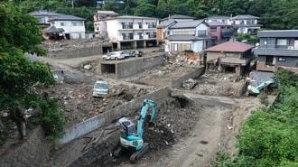 不動産は特需消滅、災害1カ月で見えた熱海の苦境