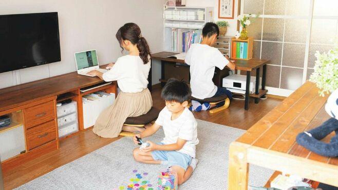 55㎡家族6人「勉強スペース」を確保する方法