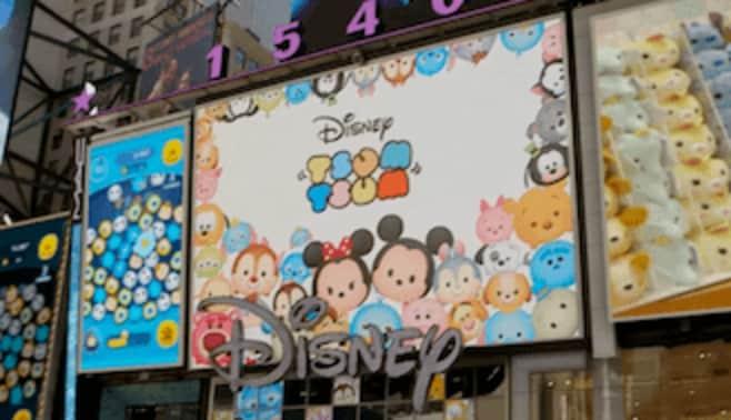 ディズニーを輸出せよ、日本発「ツムツム」