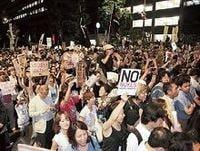 反原発デモの効果、「普通の人」が続々参加