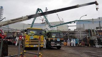 福島第一の汚染水対策で鹿島が果たした功績