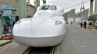 新幹線N700S、試験車と量産車の「超」微妙な違い