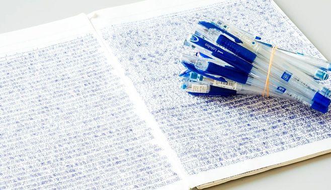 頭がいい人は、なぜ「青ペン」を使うのか?