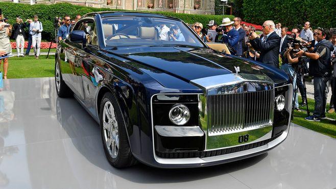 ロールス・ロイスの真価問う14億円の高級車