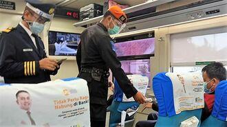 乗車時に検温徹底、アジアの鉄道「コロナ禍1年」