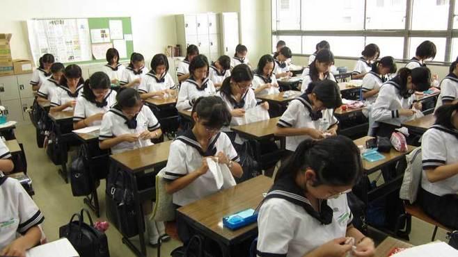 東大合格2位の女子校で毎朝裁縫をする理由