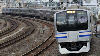 武蔵小杉は大混雑、横須賀線の増発はできる?