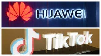 ファーウェイとTikTok、中国で評価が異なる訳