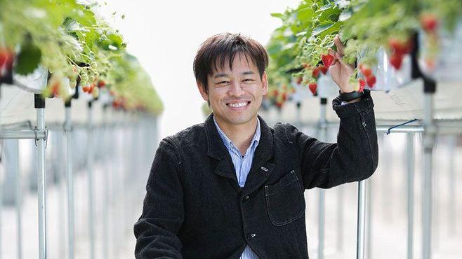 外国人が殺到するイチゴ農園が宮城にあった