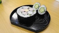 Experiencing Sushi Roll Art Classes in Tokyo