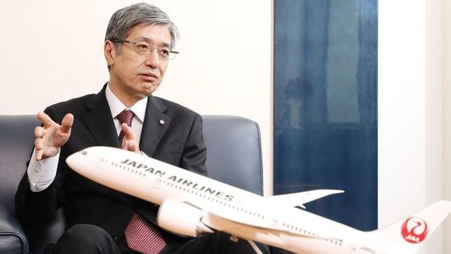 JAL新社長に直撃、LCCで「B787」を飛ばす理由