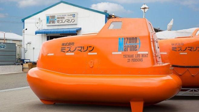 津波から命を救う「救命艇シェルター」の正体