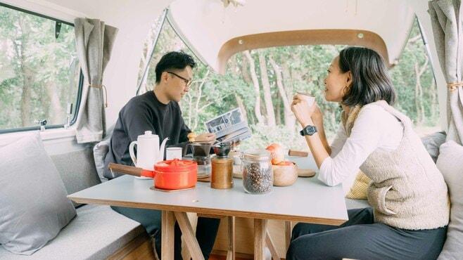 人気沸騰「移動できる家」に見る多様な暮らし方