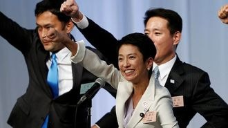 民進代表選、蓮舫氏は本当に「圧勝」したのか