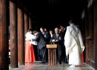 Japan Lawmakers' Group Visits Yasukuni Shrine for War Dead