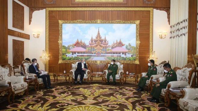 日本ミャンマー協会、沈黙貫く「キーマン」の真意