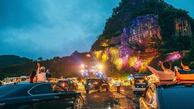 コロナで考案!車で楽しむ音楽フェスの可能性