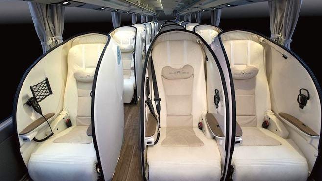 豪華バス競争「3列席」で挑むバス会社の狙い