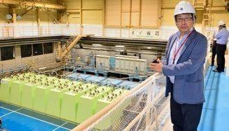 大成建設の水理実験棟へ行ってみた!