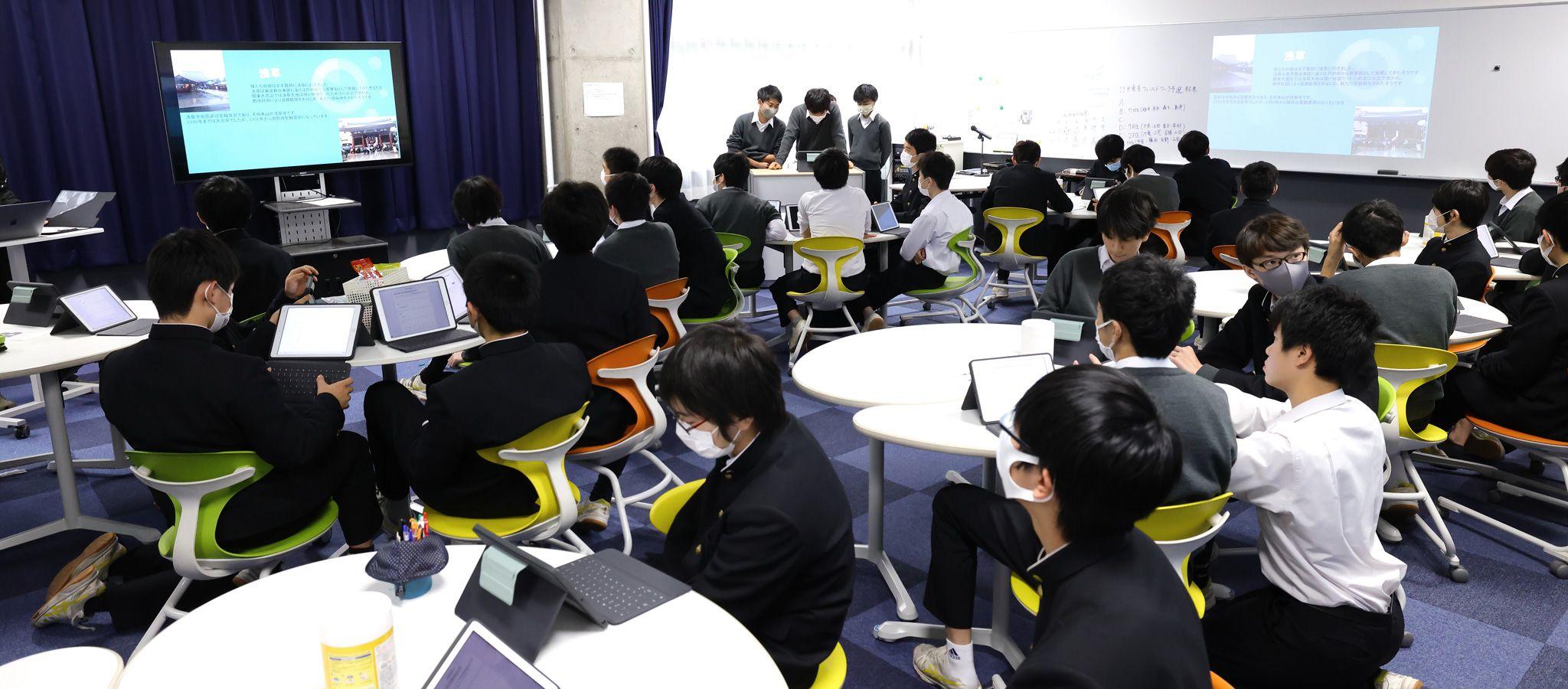伝統の進学校「iPadをどう使うかは自由」の真意