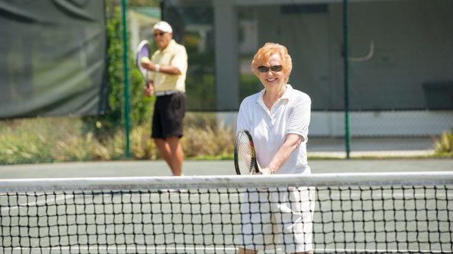 「テニスをしている人」が長生きしやすい理由