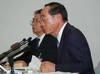 民事再生法適用を申請した新井組、社長は記者会見で「外部環境の悪化」を繰り返す