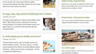 ニセ健康情報を摘発!英政府メディアの威力