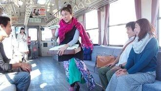 「ローカル鉄道演劇」の旅!舞台は走る列車内