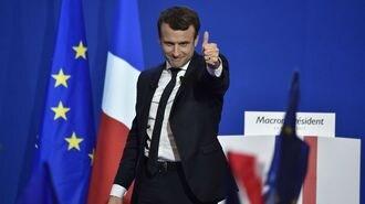 仏大統領選、マクロン勝利でEU離脱「なし」か