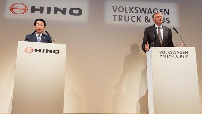 日野が親会社のライバル「VW」と手を組む事情