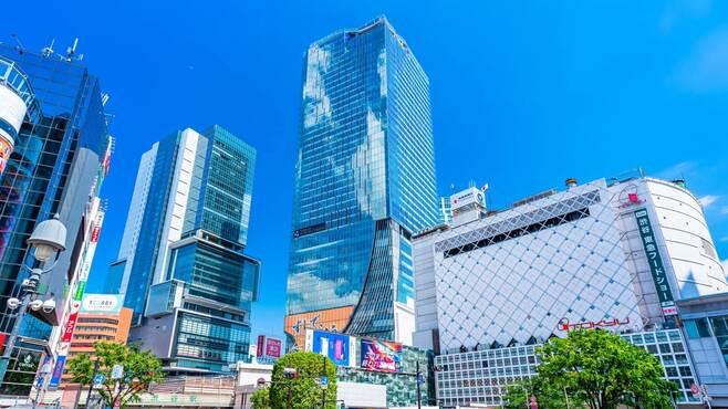渋谷駅まで電車で30分、1人暮らし4万円台の駅