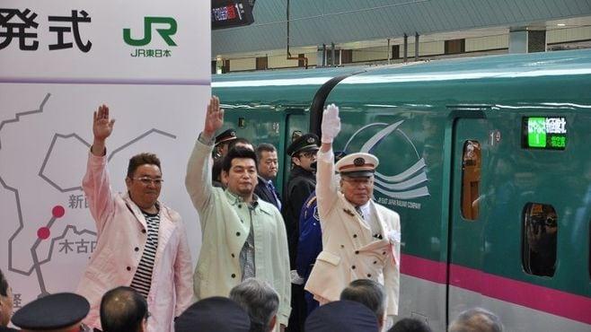 「北海道新幹線と貨物とのすれ違い」を初体感