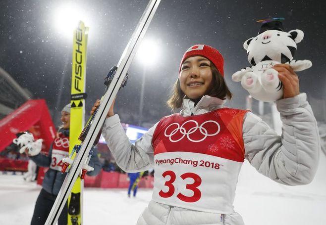 高梨が銅メダル、ジャンプ女子ノーマルヒル