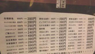 ホッケ390円!ワタミは値下げで復活するか