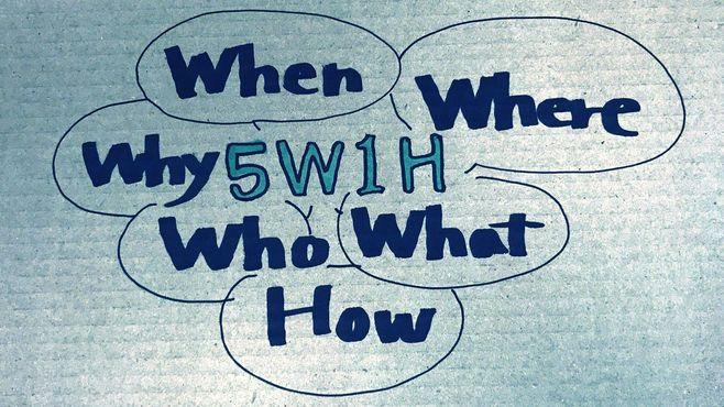 仕事のできない人は「5W1H」の本質を知らない