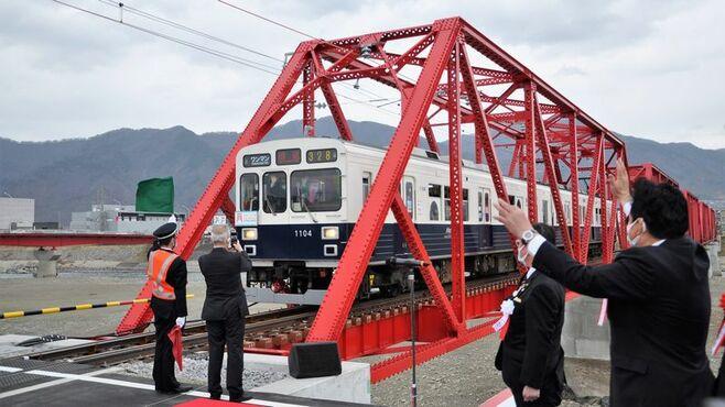 台風で橋崩落、上田電鉄「復活」まで532日の軌跡