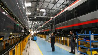 現地ルポ、日立「イタリア鉄道工場」の最深部
