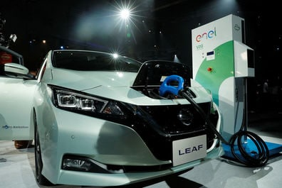 Nissan says new electric vehicle competitors 'positive' for market