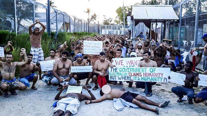 ラッセル・クロウも批判する豪州の難民施設