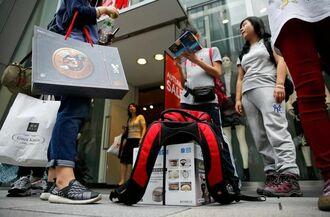 7月の訪日外国人、韓国からは前年比7.6%減