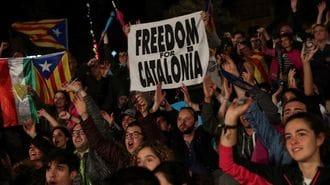 カタルーニャ独立騒動は、まだ激しさを増す