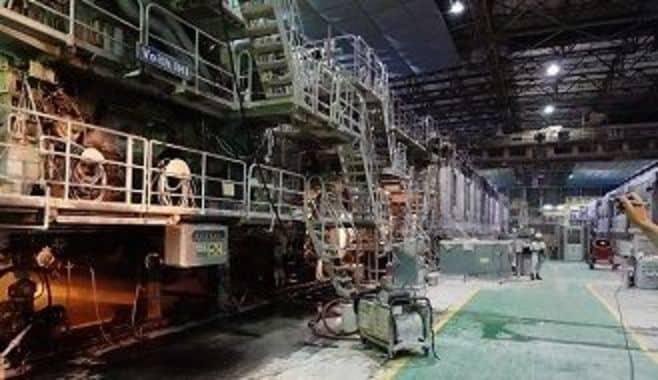 日本製紙石巻工場「8号抄紙機」の感動秘話