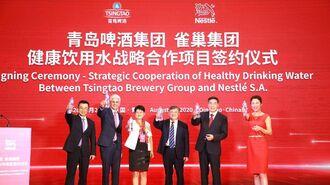ネスレ、中国本土の飲料水事業から全面撤退