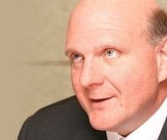 Ballmer Says Double-Digit Growth Still Possible at MS