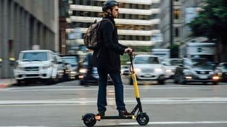 アメリカで「電動スケーター」大ブームの理由